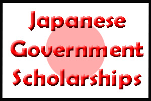 Japanese Government Scholarships