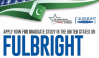Fulbright Degree Grants for Pakistani Students in USA, 2020