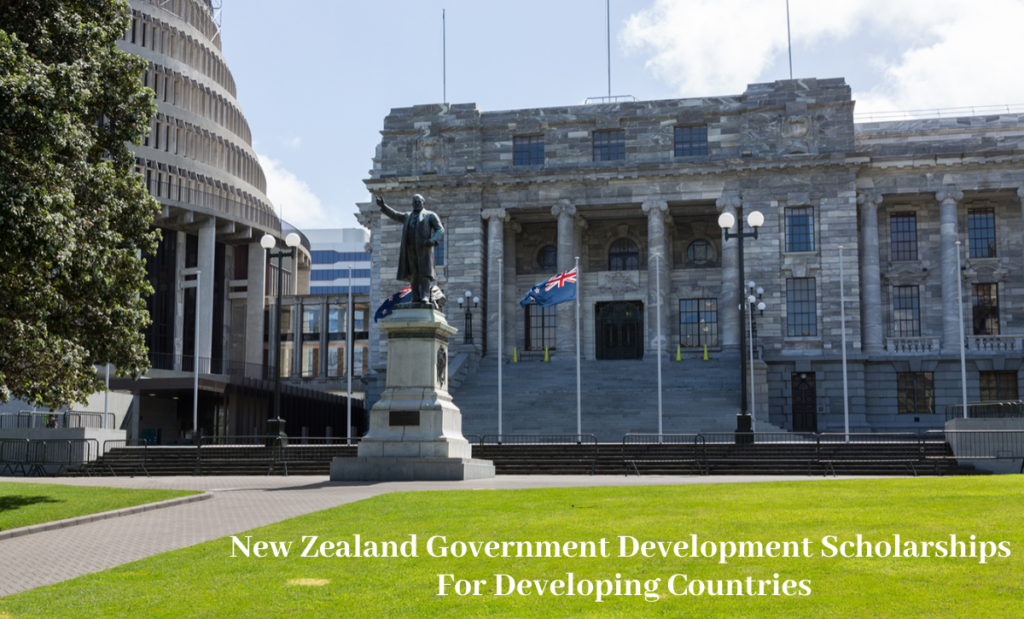 New Zealand Government Development Scholarships for Developing Countries, 2020-21