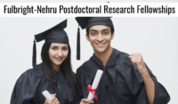 Fulbright Nehru Doctoral Research Fellowships for Indian Scholars in USA, 2021-2022