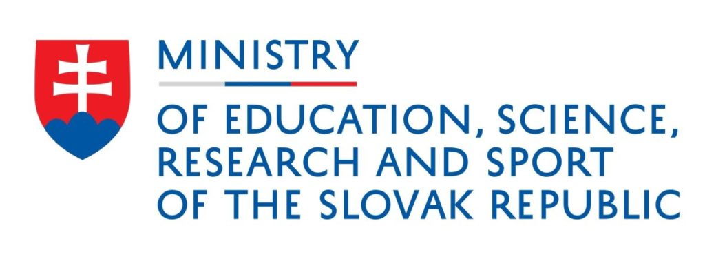 Ministry of Education, Science, Research and Sport of the Slovak Republic programme, 2019