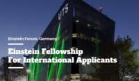 Einstein Fellowship for International Applicants in Germany, 2020