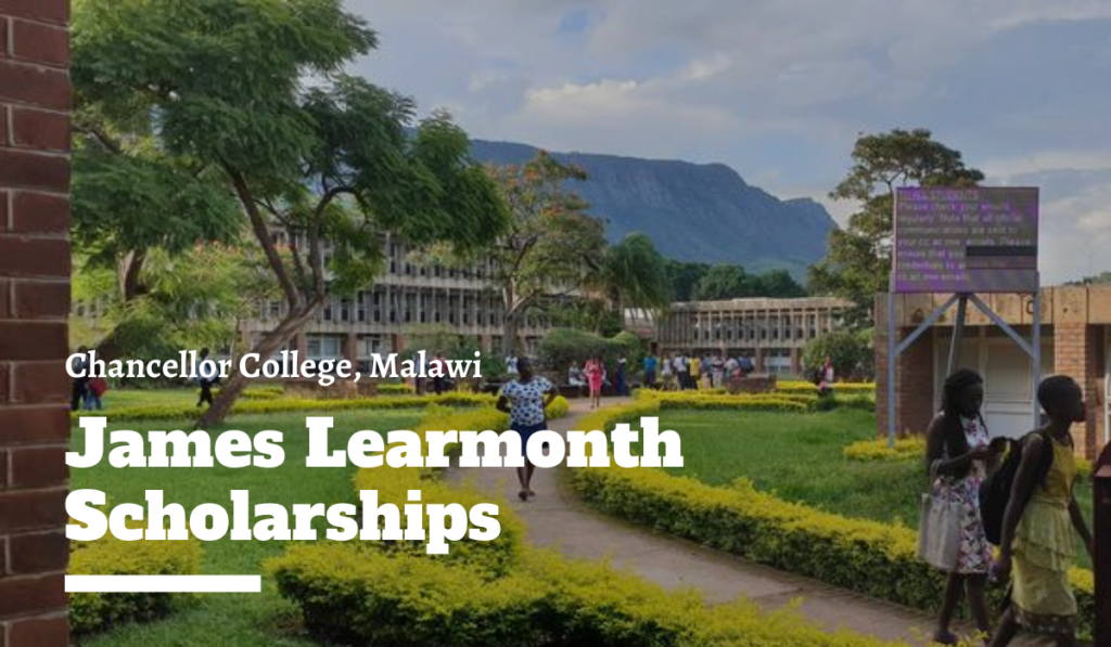 James Learmonth Scholarships at Chancellor College, Malawi