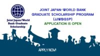JJWBGSP funding for Developing Country Nationals and for Japan Nationals, 2019