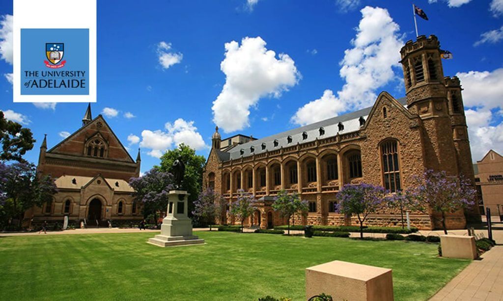 University of Adelaide Graduate Research Scholarships (AGRS), 2019
