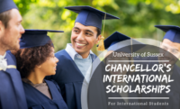 25 Chancellor's international awards at University of Sussex in UK, 2019