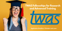 TWAS Fellowships for Research and Advanced Training, 2020