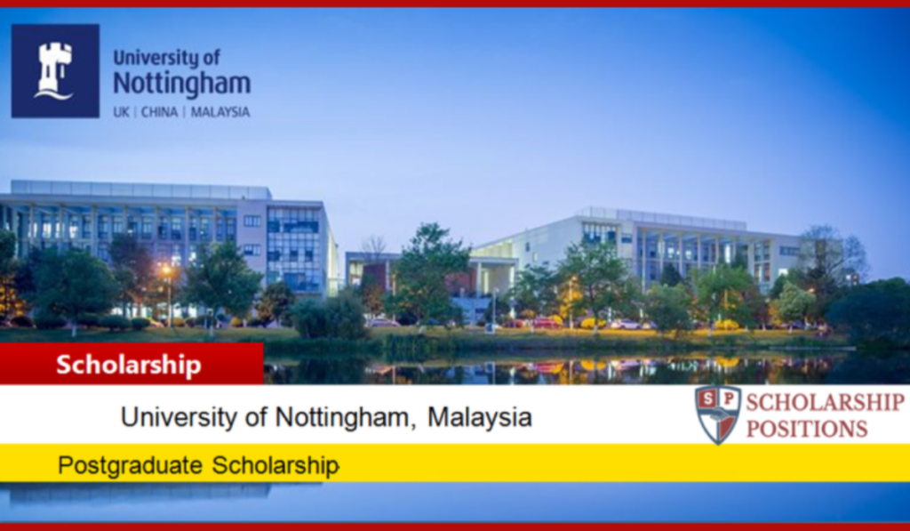 University of Nottingham Developing Solutions masters programmes in UK, 2020