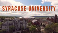academic programs at Syracuse University in USA, 2018