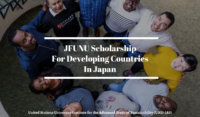 JFUNU funding for Developing Countries in Japan, 2020