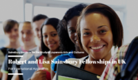 Robert and Lisa Sainsbury Fellowships for International Applicants in UK, 2020-21