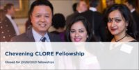 UK Foreign and Commonwealth Office Chevening Clore Fellowship in UK, 2019