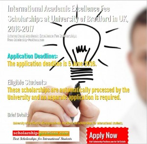 international academic excellence fee scholarship