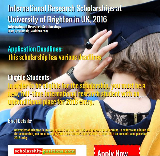international research scholarships