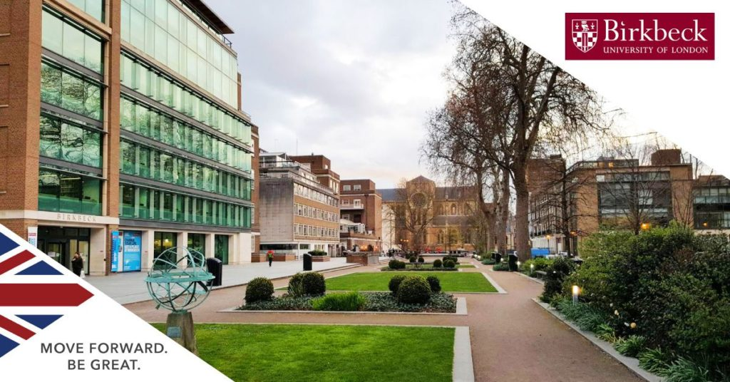 School of Arts Research Studentships at Birkbeck University of London in UK, 2019