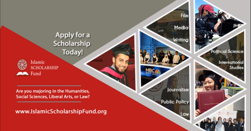 2020 Islamic Scholarship Fund for Muslim Community Students of US