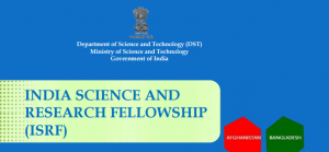India science and research fellowship isrf in india 2018 number of scholarships up to 70 fellowships for all countries will be awarded annually under this scheme altavistaventures Choice Image
