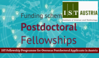 IST Fellowship Programme for Overseas Postdoctoral Applicants in Austria, 2018