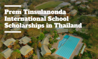 Prem Tinsulanonda International School Scholarships in Thailand, 2020
