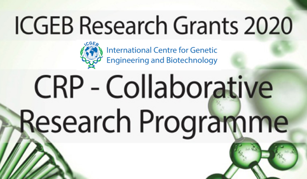 ICGEB Research Grants for Member States, 2020
