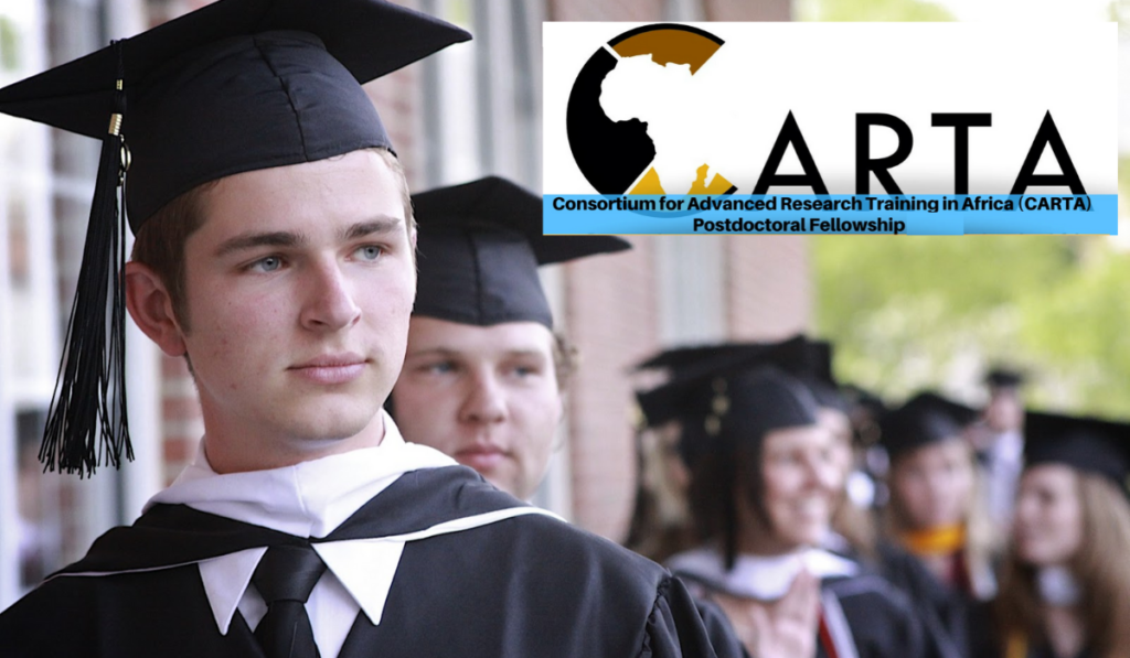 CARTA Postdoctoral Fellowships for African Students, 2019