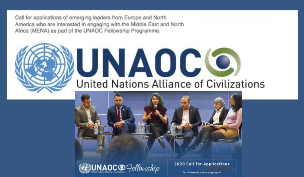 UNAOC Middle East and North Africa (MENA) Fellowship Programme, 2020