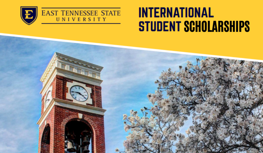 East Tennessee State University international awards in USA, 2020
