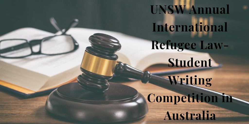 Annual International Refugee Law-Student Writing ...