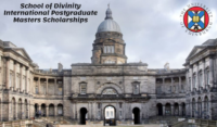 School of Divinity masters programmes for International Students at University of Edinburgh in UK, 2020