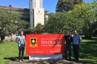 Sir Edmund Hillary Scholars' Higher-Qualification Scholarship at University of Waikato in New Zealand, 2019
