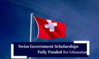 Swiss government awards for Ghanaian Students, 2020