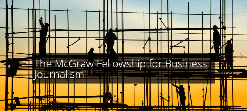 The McGraw Fellowships for Business Journalism for International Students in USA, 2019