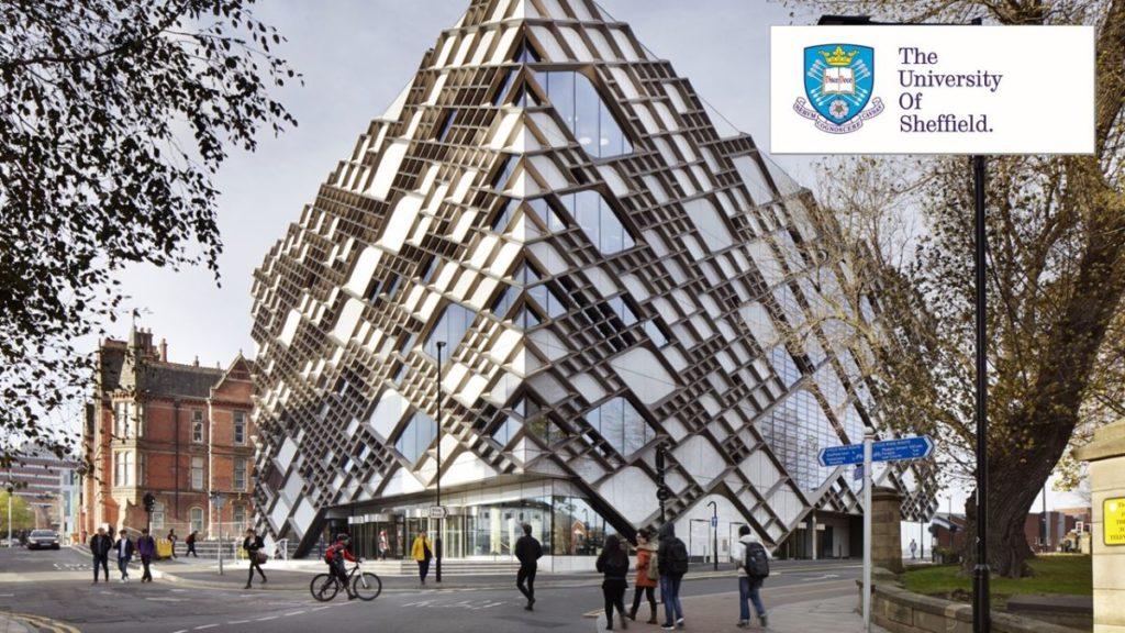 University of Sheffield International Merit postgraduate placements in UK, 2019