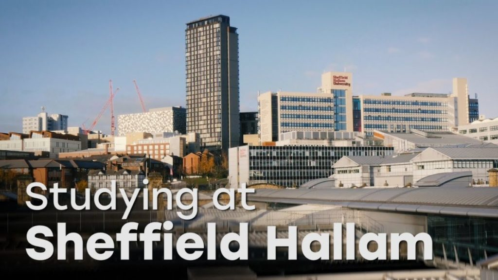 Sheffield Hallam programs for International Students in UK, 2017-2018
