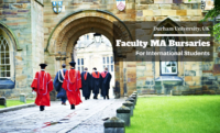 Faculty MA Bursaries for International Students at Durham University in UK, 2020