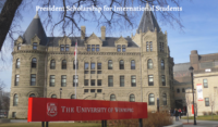 President funding for International Students at University of Winnipeg in Canada, 2020