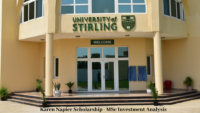 University of Stirling Management School Karen Napier Scholarships in UK, 2020