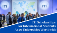 ITI Scholarships for International Students at Universities Worldwide, 2020