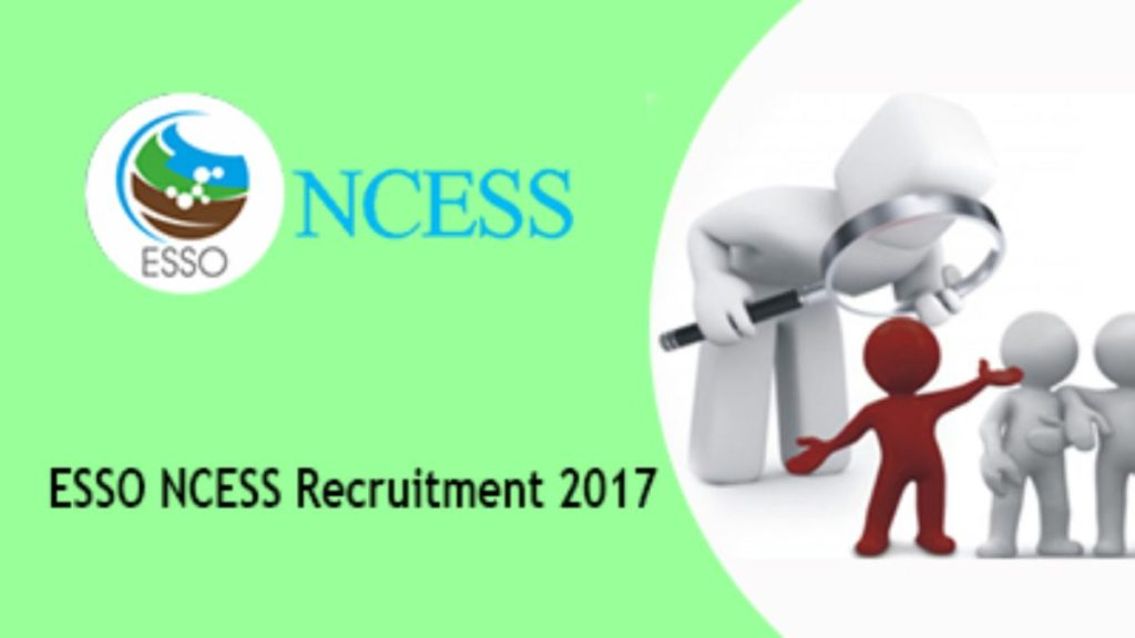 ESSO-NCESS Junior Research Fellowship for Indian Students