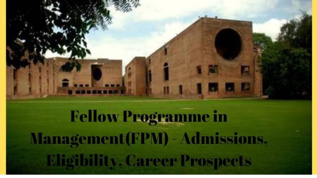 Fellow Programme in Management (FPM) at XLRI in India, 2018