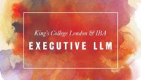 Executive LLM Scholarships at King's College London in UK, 2017