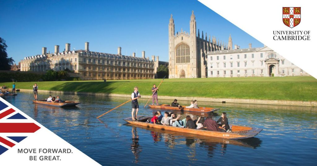 Scholarships for New Zealand Students at Cambridge University in UK, 2019