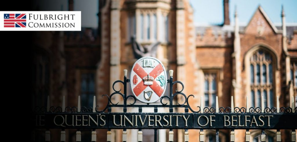 New Fully-Funded International PhD Fellowship at Queen's University Belfast in UK, 2018-2019