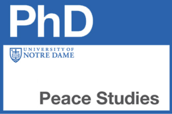 Fully Funded PhD Positionsin Peace Studies, USA, 2018
