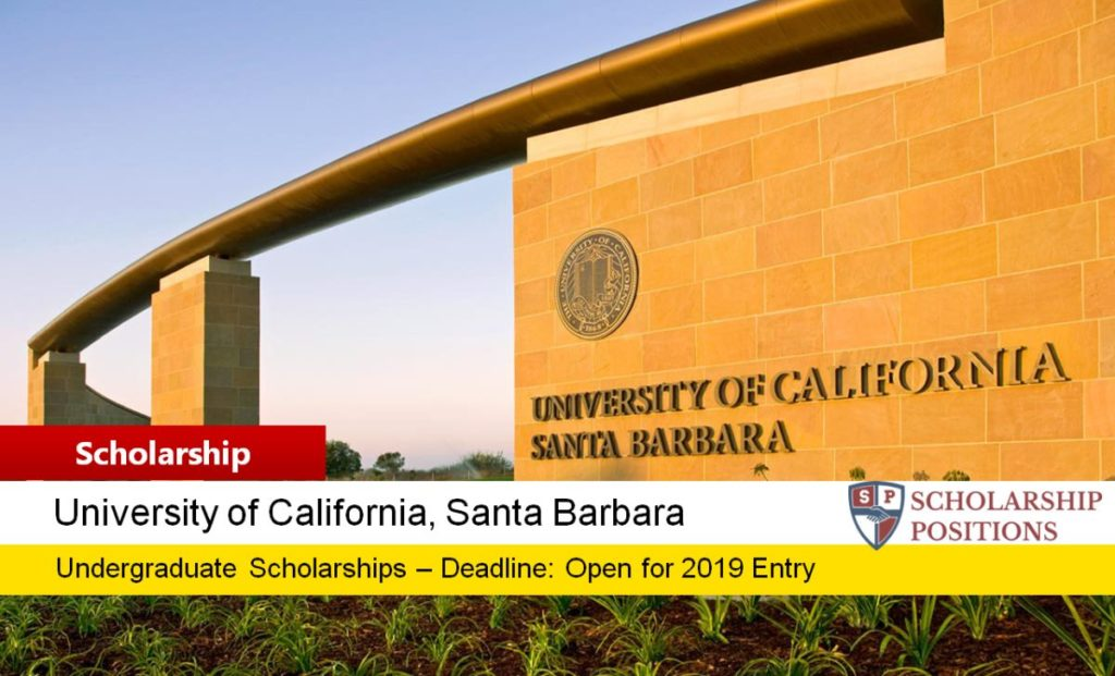 Ucsb Spring Quarter 2020.Ucsb Regents Scholarship At University Of California Santa