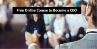 Free Online Course to Become a CEO