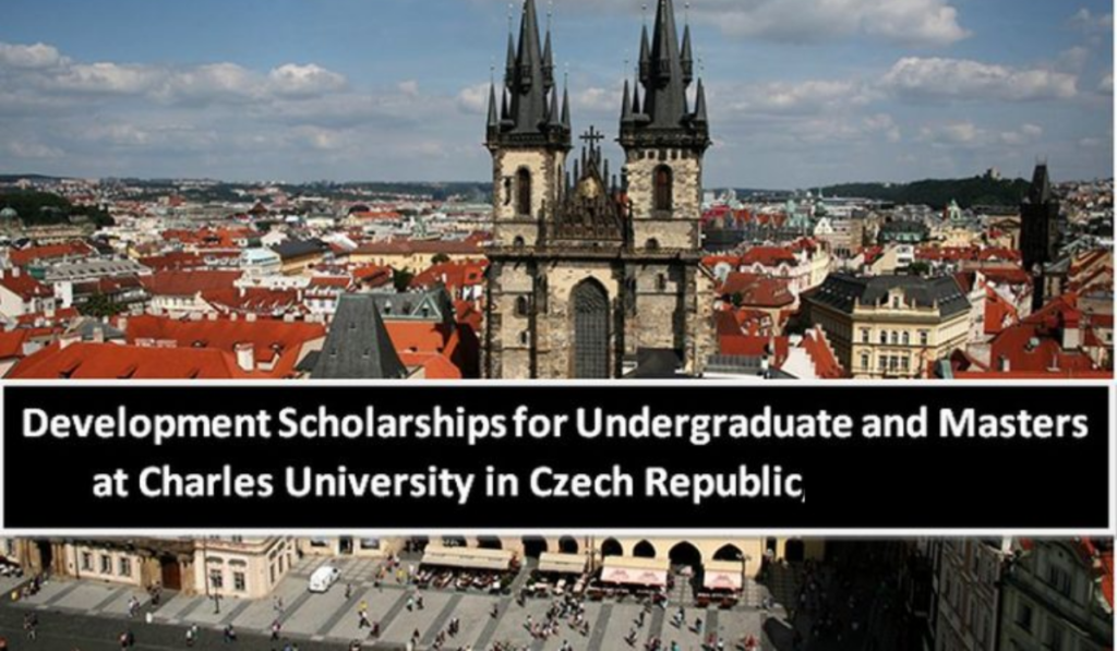 Development Scholarships for Undergraduate and Masters at Charles University in Czech Republic 2020