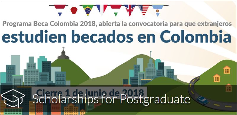 ICETEX graduate funding opportunities for Foreigners in Colombia, 2018