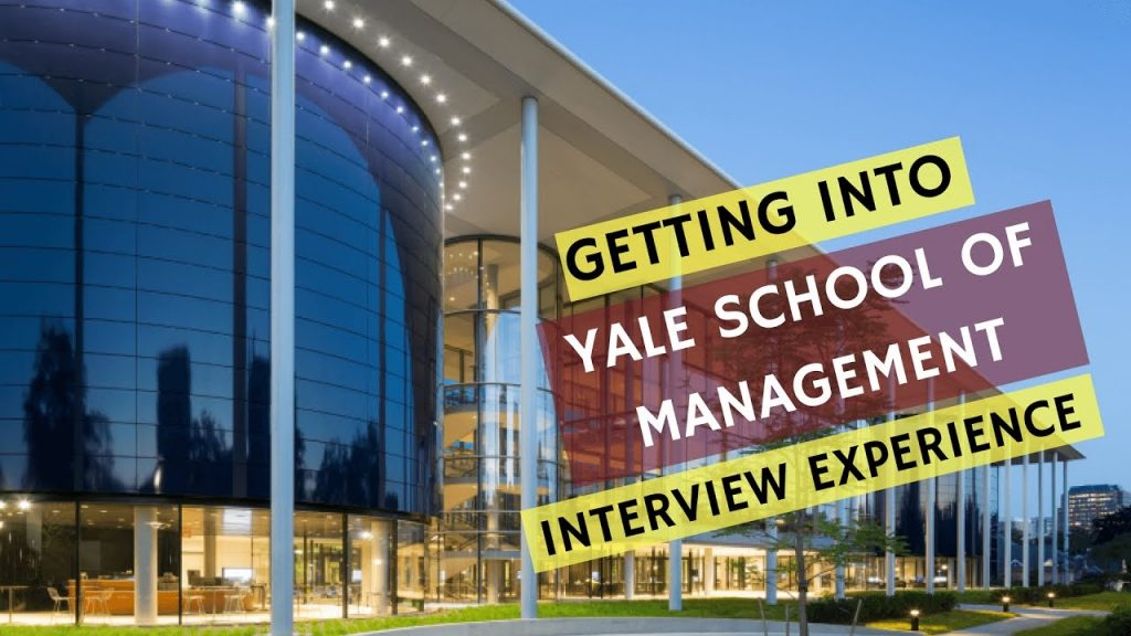 MBA Scholarships at Yale School of Management in USA, 2018