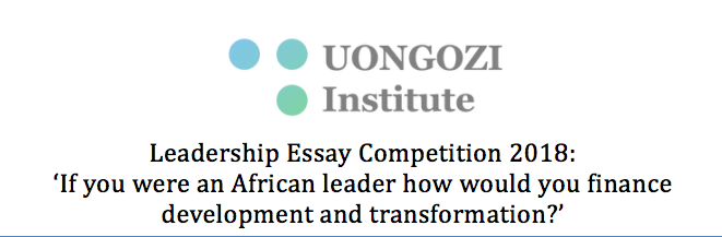 Uongozi Institute Leadership Essay Competition In Kenya  Eligibility Essay On Healthy Eating also Proposal Essay Topic Ideas  Proposal Example Essay